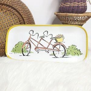 Threshold Tandem Bike Melamine  Small Platter